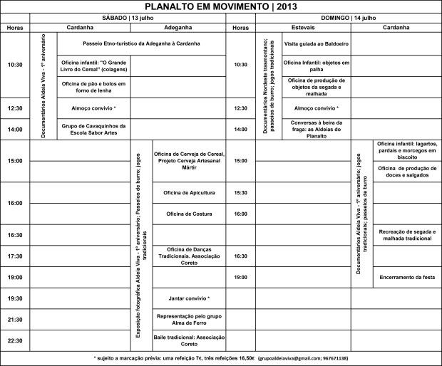 Programa Planalto